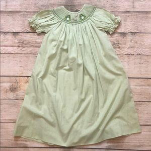 Other - Smocked 4t Frog and flies dress